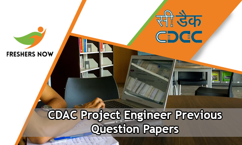 CDAC Project Engineer Previous Question Papers
