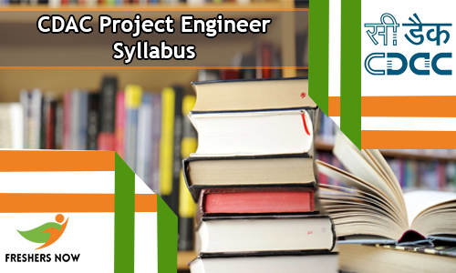 CDAC Project Engineer Syllabus