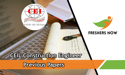 CEIL Construction Engineer Previous Papers