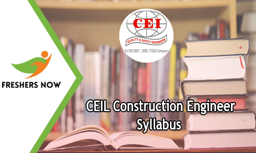 CEIL Construction Engineer Syllabus