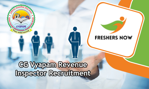 CG Vyapam Revenue Inspector Recruitment