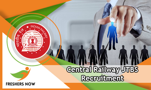 Central Railway JTBS Recruitment