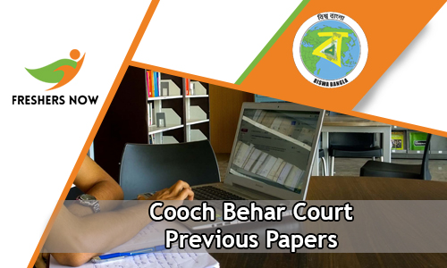 Cooch Behar Court Previous Papers