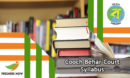 Cooch Behar Court Syllabus