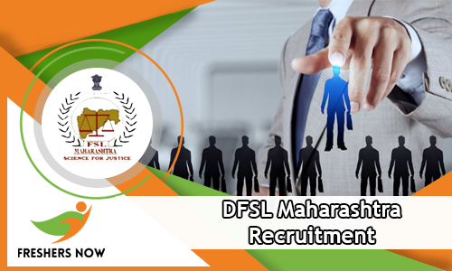 DFSL Maharashtra Recruitment