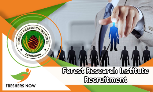 Forest Research Institute Recruitment