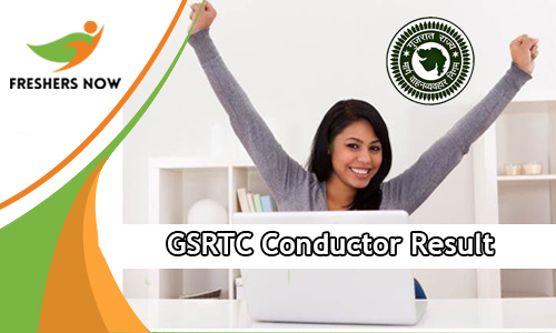 GSRTC Conductor Result