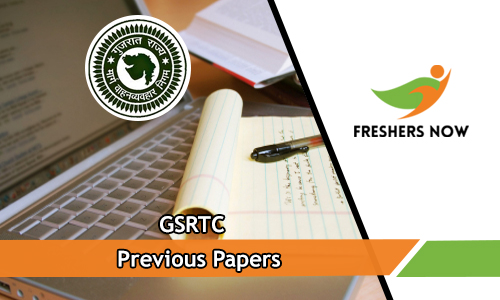 345 GSRTC Previous Papers