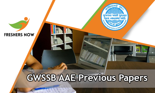 GWSSB AAE Previous Papers