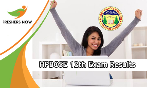 HPBOSE 12th Exam Results