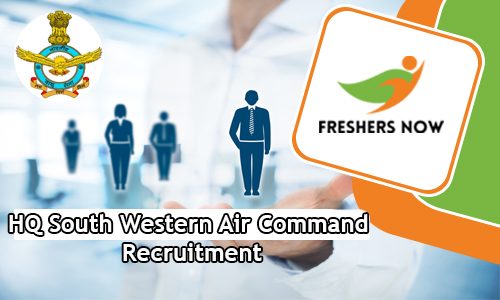 HQ South Western Air Command Recruitment