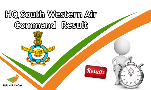 HQ South Western Air Command Result