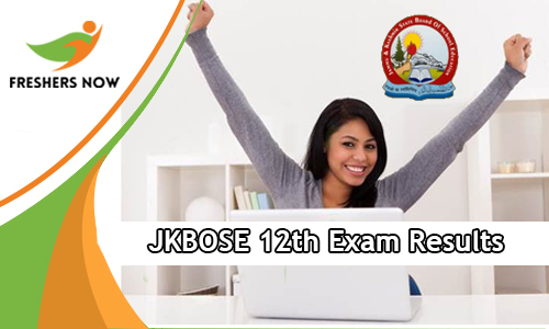 JKBOSE 12th Exam Results
