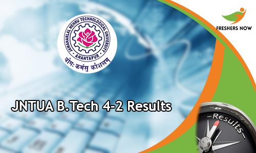JNTUA B.Tech 4-2 Results