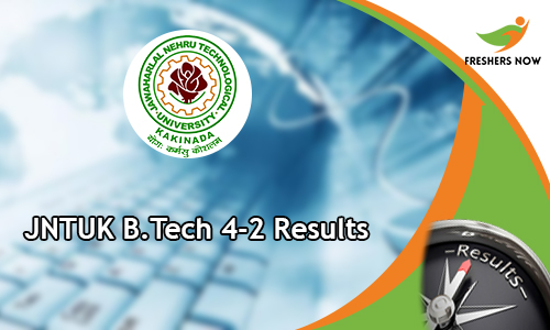JNTUK B.Tech 4-2 Results