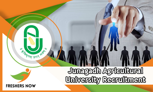 unagadh Agricultural University Recruitment