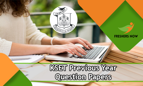KSET Previous Year Question Papers