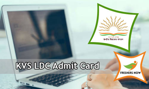 KVS LDC Admit Card