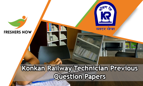 Konkan Railway Technician Previous Question Papers