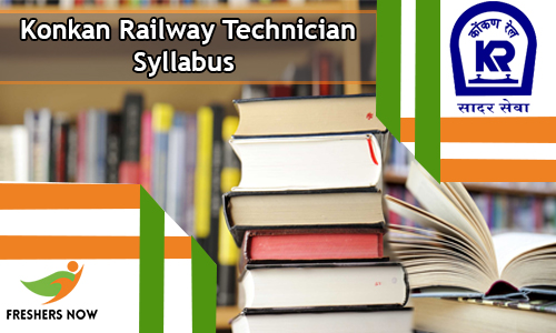 Konkan Railway Technician Syllabus