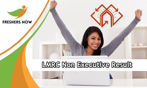 LMRC Non Executive Result