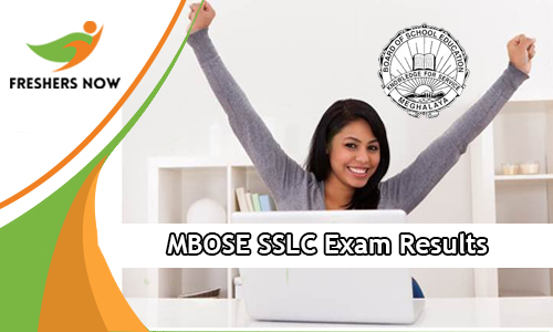 MBOSE SSLC Exam Results