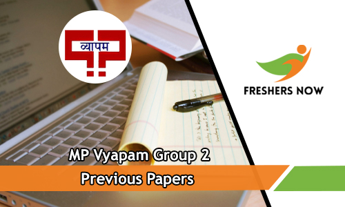 MP Vyapam Group 2 Previous Papers