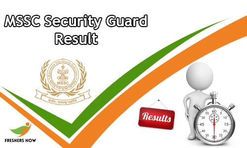 MSSC Security Guard Result