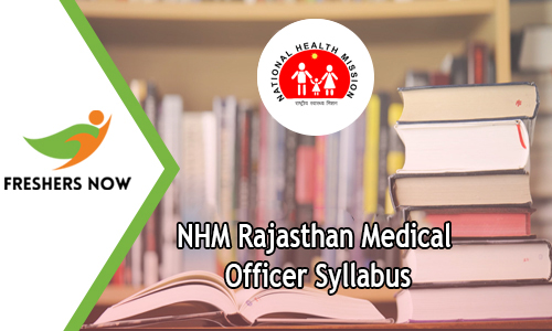 NHM Rajasthan Medical Officer Syllabus