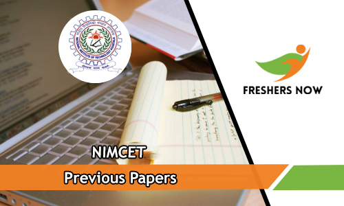 NIMCET Previous Papers
