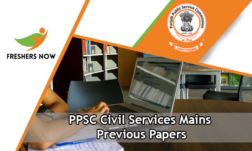 PPSC Civil Services Mains Previous Papers