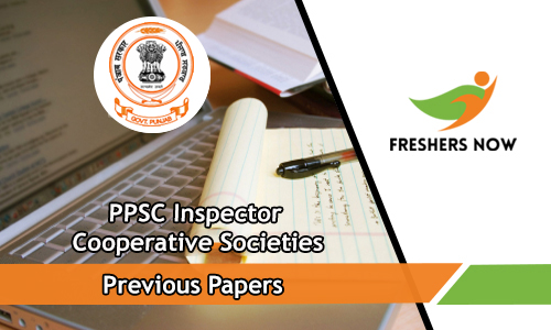 PPSC Inspector Cooperative Societies Previous Papers