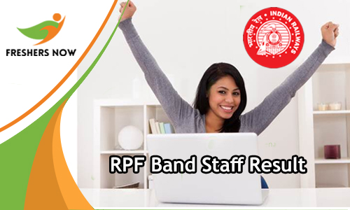 RPF Band Staff Result