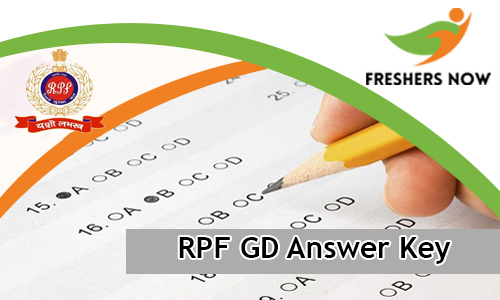 RPF GD Answer Key