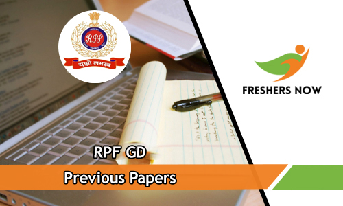 RPF GD Previous Papers PDF Download - Railway GD Model
