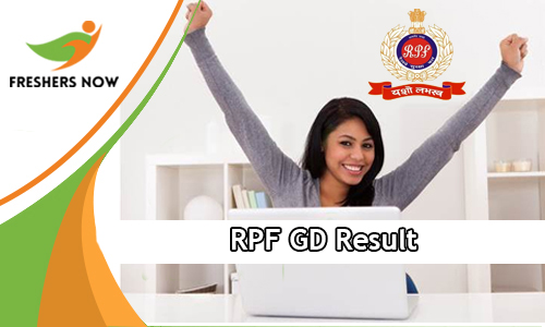 RPF GD Result