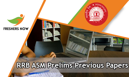 RRB ASM Prelims Previous Papers