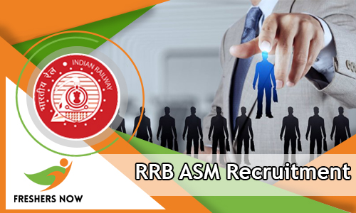 RRB ASM Recruitment