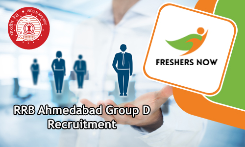 RRB Ahmedabad Group D Recruitment