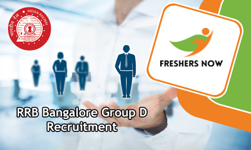RRB Banglore Group D Jobs
