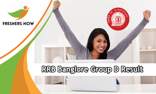 RRB Bangalore Group D Result