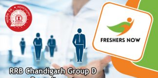 RRB Chandigarh Group D Jobs