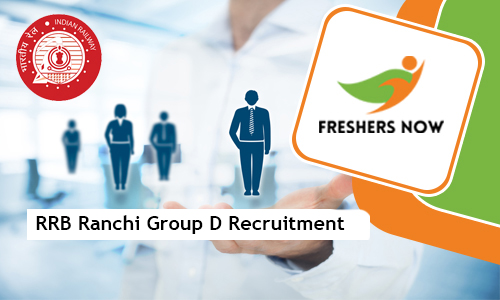 RRB Ranchi Group D Jobs