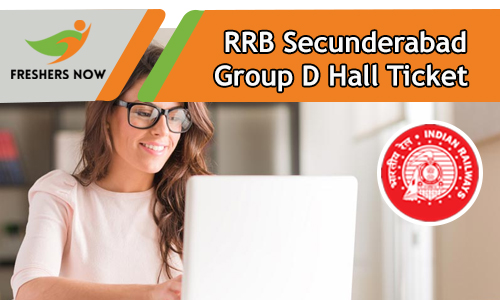 RRB Secunderabad Group D Hall Ticket