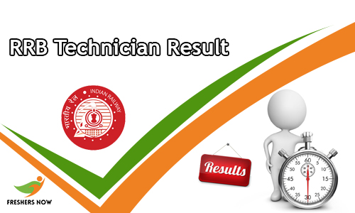 RRB Technician Result