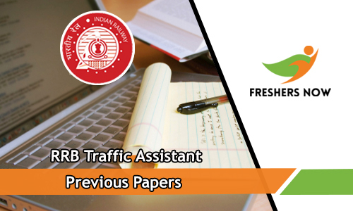 RRB Traffic Assistant Previous Papers