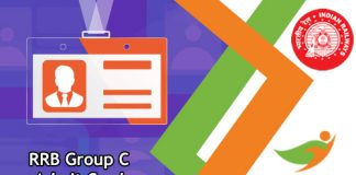 RRB Group C Admit Card