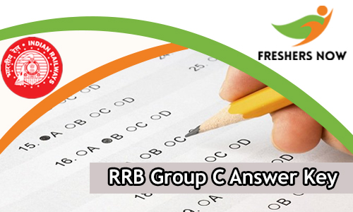 RRB Group C Answer Key