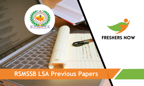 RSMSSB Livestock Assistant Previous Papers