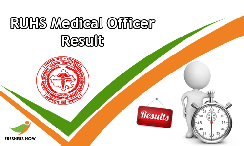 RUHS Medical Officer Result